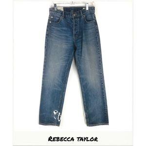 Rebecca Taylor   La Vie Sylvie High Rise Jeans